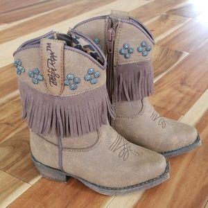 Blazin Roxx toddler studded cowgirl boots